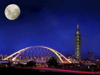 在台北过中秋,今宵海峡两岸同赏一轮月