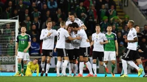德国、英格兰提前晋级俄罗斯世界杯