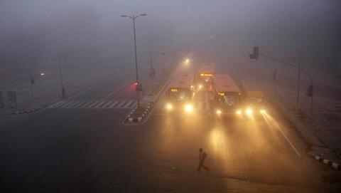 """印度首都空气质量有多差?警犬的鼻子都""""失灵""""了!"""