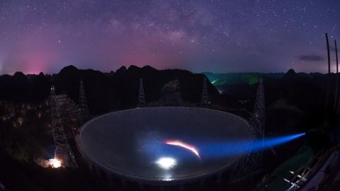 """它是地球上最能干的脉冲星""""捕手""""还要寻找银河系外的星际""""灯塔"""""""
