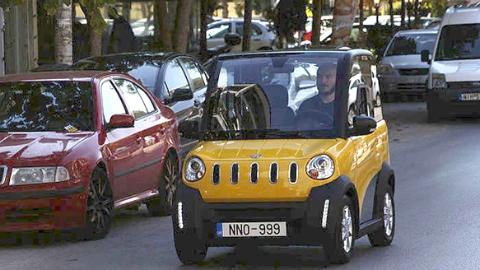 中希合作生产,希腊首批电动汽车上市