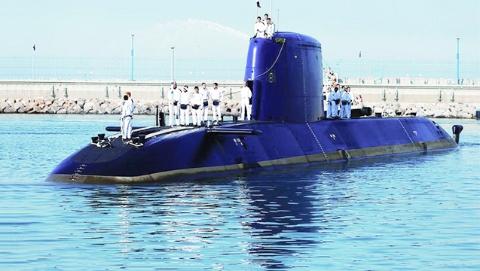"""德国潜艇""""伤""""了以色列总理"""