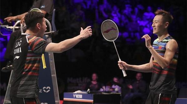 丹麦公开赛收拍,中国羽毛球队刘成张楠男双夺冠