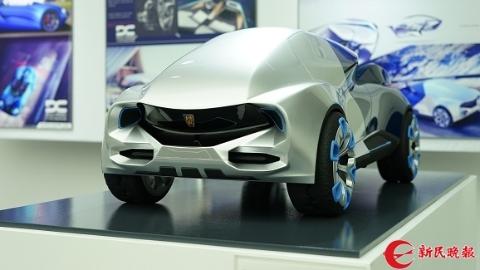 """海内外大学生定义""""未来汽车"""" 复古设计摘得""""上汽设计国际挑战赛""""桂冠"""