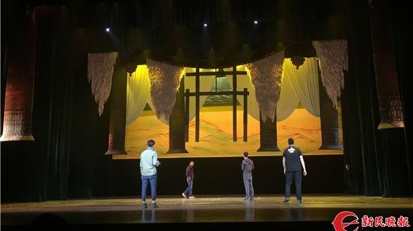 艺术节侧影 古典舞《昭君》演出前后