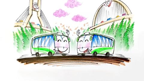 【十九大时光】独家述评丨江边的公交微循环