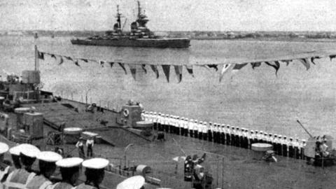 61年前,上海接待外国来访舰队