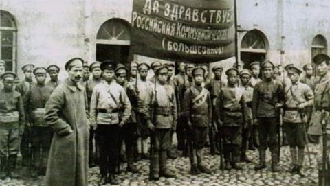 十月革命胜利后 为苏维埃而战的中国志愿兵