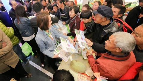 """上海农业科技成果亮相杨凌农高会 """"一带一路""""助推农业现代化"""