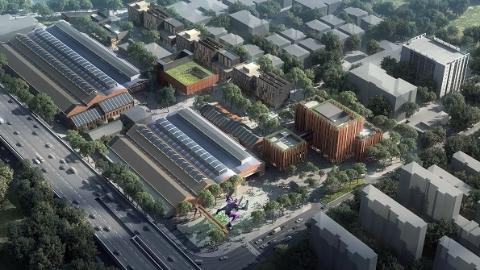 【领航新征程】工业老厂房摇身一变  化身创意产业园区