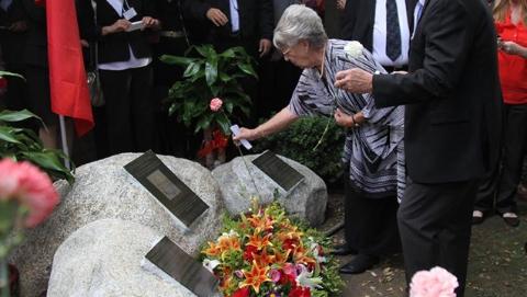美国建威尔逊医生纪念碑:亲历南京大屠杀 救助无数中国人
