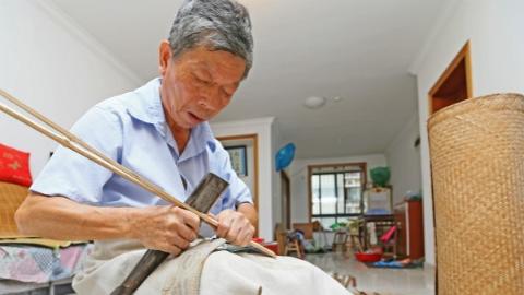 唐明星:守护工匠精神  传承竹器工艺