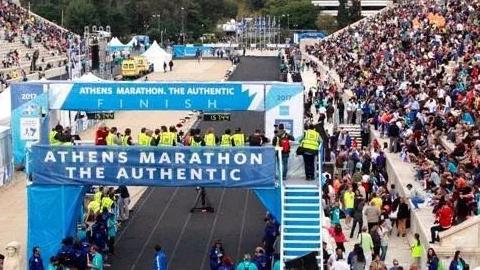 嗨!我在雅典,跑全球最正宗的马拉松!