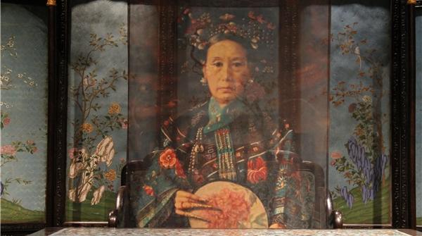 """这个首登美洲的""""颐和园文物展""""展示了慈禧太后的另一面"""