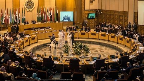 阿盟开会怼伊朗  黎巴嫩外长缺席