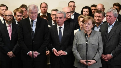 自由民主党退出 默克尔组阁失败