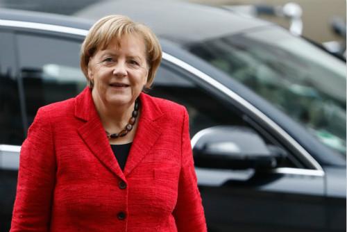 德国联盟党领导人默克尔表示:建少数派政府 不如重新大选