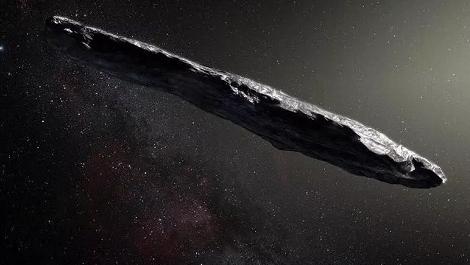 """首个确认身份的太阳系外来客被发现:一去不复返的""""欧姆啊姆啊""""!"""