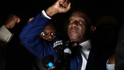 姆南加古瓦明日就任津巴布韦总统