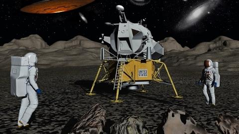 """专家在沪畅谈未来航天""""大动作""""  中国正论证无人值守月球科研站"""