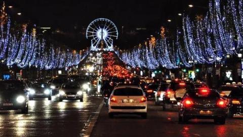 巴黎香街摩天轮即将被拆,从此只在回忆里