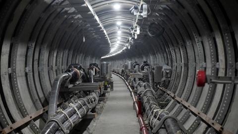 潘广路-逸仙路电力隧道本月底投入使用 惠及宝山、杨浦、虹口三区