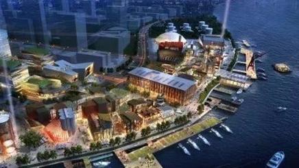 """【领航新征程】""""上海梦中心""""明年底建成 5大区域绽放异彩"""