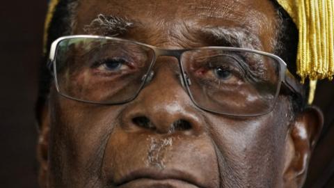 穆加贝生日被定为 津巴布韦法定节日