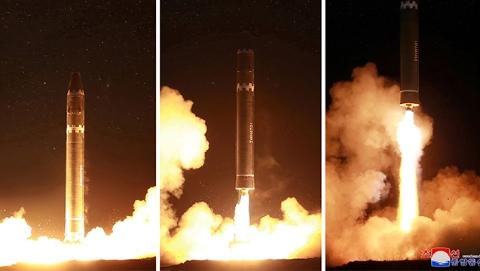 美韩施压诱发朝鲜再射弹道导弹
