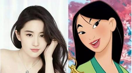 迪士尼真人版《花木兰》女主敲定刘亦菲!