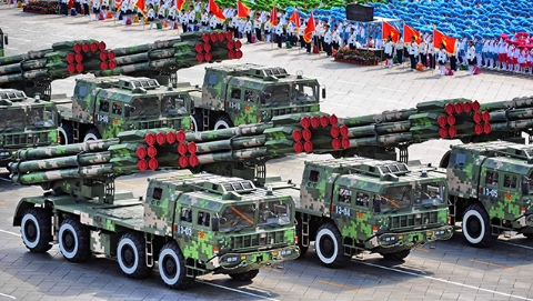 """""""喀秋莎的愤怒"""":中国齐射火箭炮明星(一)"""