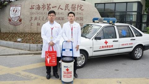 """脐带血千里赴申城""""救急""""  中国干细胞集团移植突破3000例"""