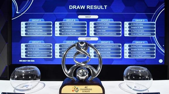 2018赛季亚冠联赛抽签分组揭晓 沪上双雄皆陷死亡之组