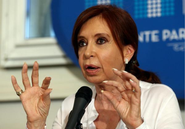 """阿根廷前女总统遭""""叛国""""指控"""