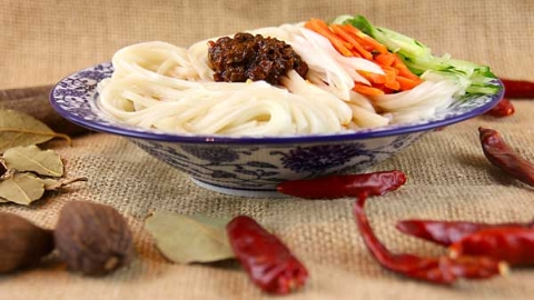 七夕会·美食|母亲的红薯炝锅面