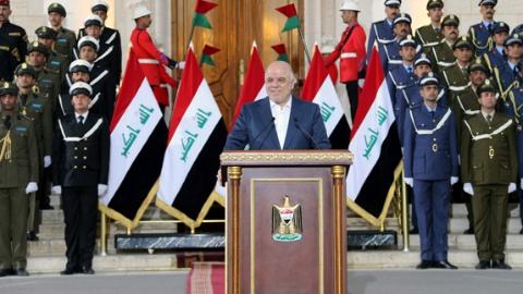 """伊拉克宣布彻底击败""""伊斯兰国"""""""