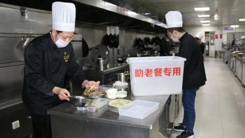 """金山朱泾""""爱心助老送餐""""四年如一日风雨无阻"""