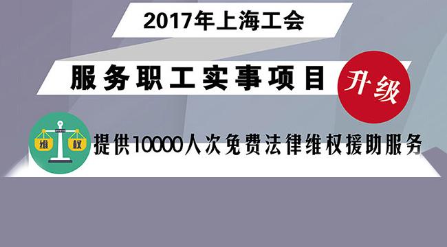 上海市总工会公布2018年9项实事项目