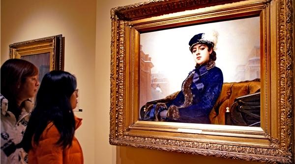 《无名女郎》来上海了!巡回画派最好的作品都在上博了