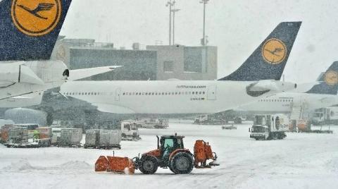 大雪成灾,法兰克福机场瘫痪,170 趟航班取消