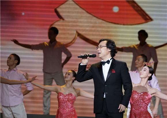 图说:廖昌永演唱《向往》