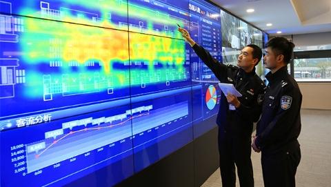 上海虹桥站首次引入热力成像系统 可实时监测客流预报旅客积压