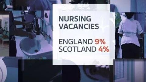 英国医生薪资低下,10万岗位空缺