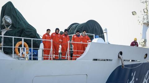 """""""淞航""""号首航凯旋!听国内首艘远洋渔业资源调查船说说海的故事"""