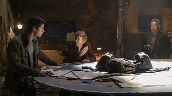 2018首部与北美同步上映好莱坞大片《移动迷宫3》定档