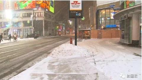 加拿大发布罕见红色极寒警报,部分地区气温降至-42℃