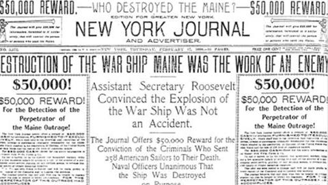 报纸制造的战争