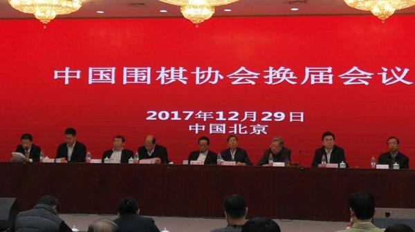 中国围棋协会在京举行换届会议:王汝南卸任 林建超接任