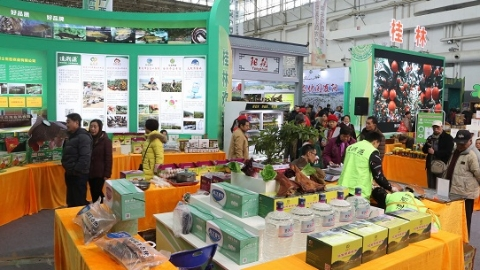 桂林特色美食走入申城 打响优质农产品市场品牌