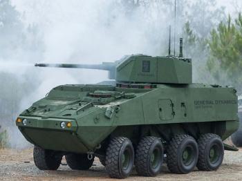 """【兵器】美军测试升级版""""斯特赖克""""轮式战车"""